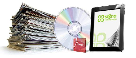 Maquetación de revistas, libros y publicaciones electrónicas
