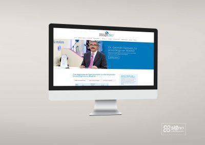 Web Centro Proctológico Dr. Vázquez