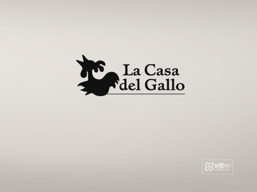 La Casa del Gallo logotipo