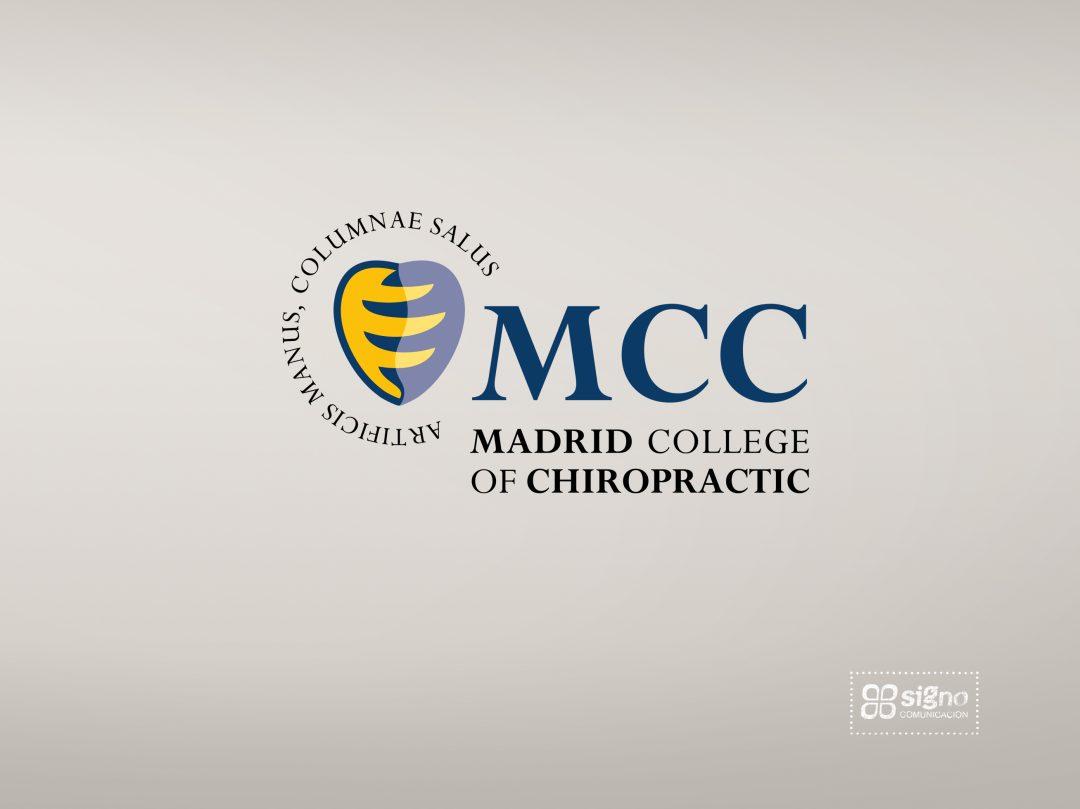 Madrid College of Chiropractic logotipo