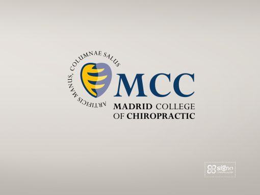 Madrid College of Chiropractic logotipo