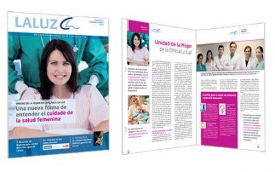 Nueva revista corporativa de la Clínica la Luz