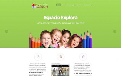 Fundación Alentia: proyectos sociales con especial atención a los más pequeños