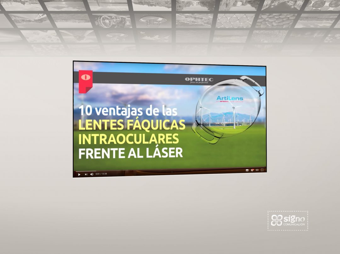 Artilens ventajas lentes intraoculares Video