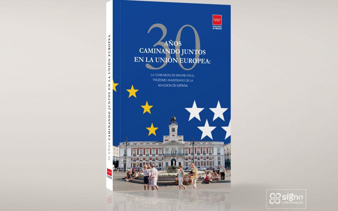 Libro del 30 Aniversario de la adhesión a la UE