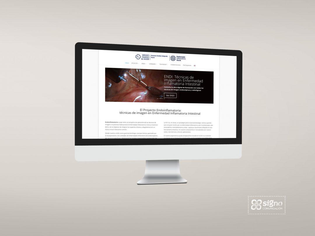 Web Endoinflamatoria de la Unidad EII Hospital de Ferrol