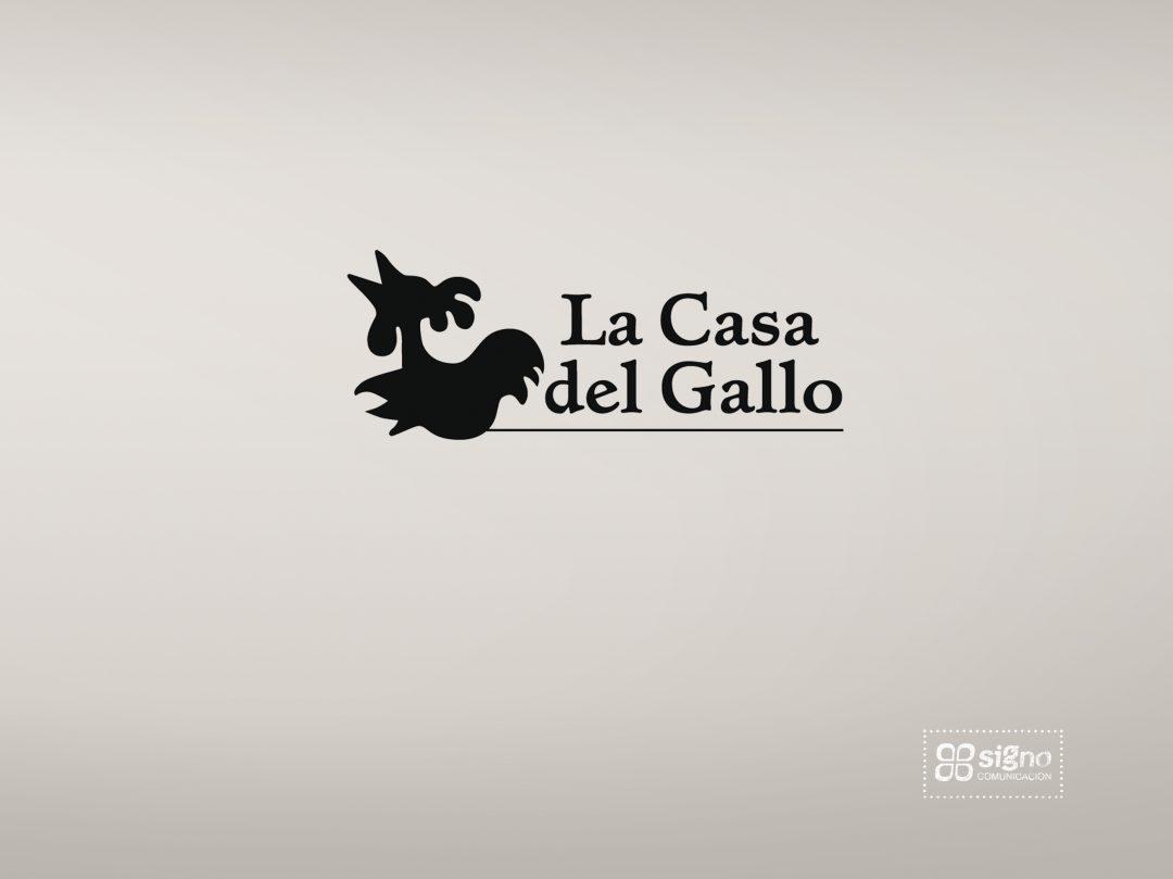 La Casa del Gallo logotipo