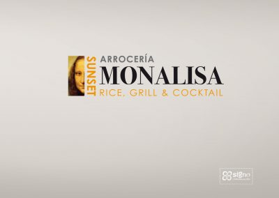 Restaurante Monalisa Sunset logotipo